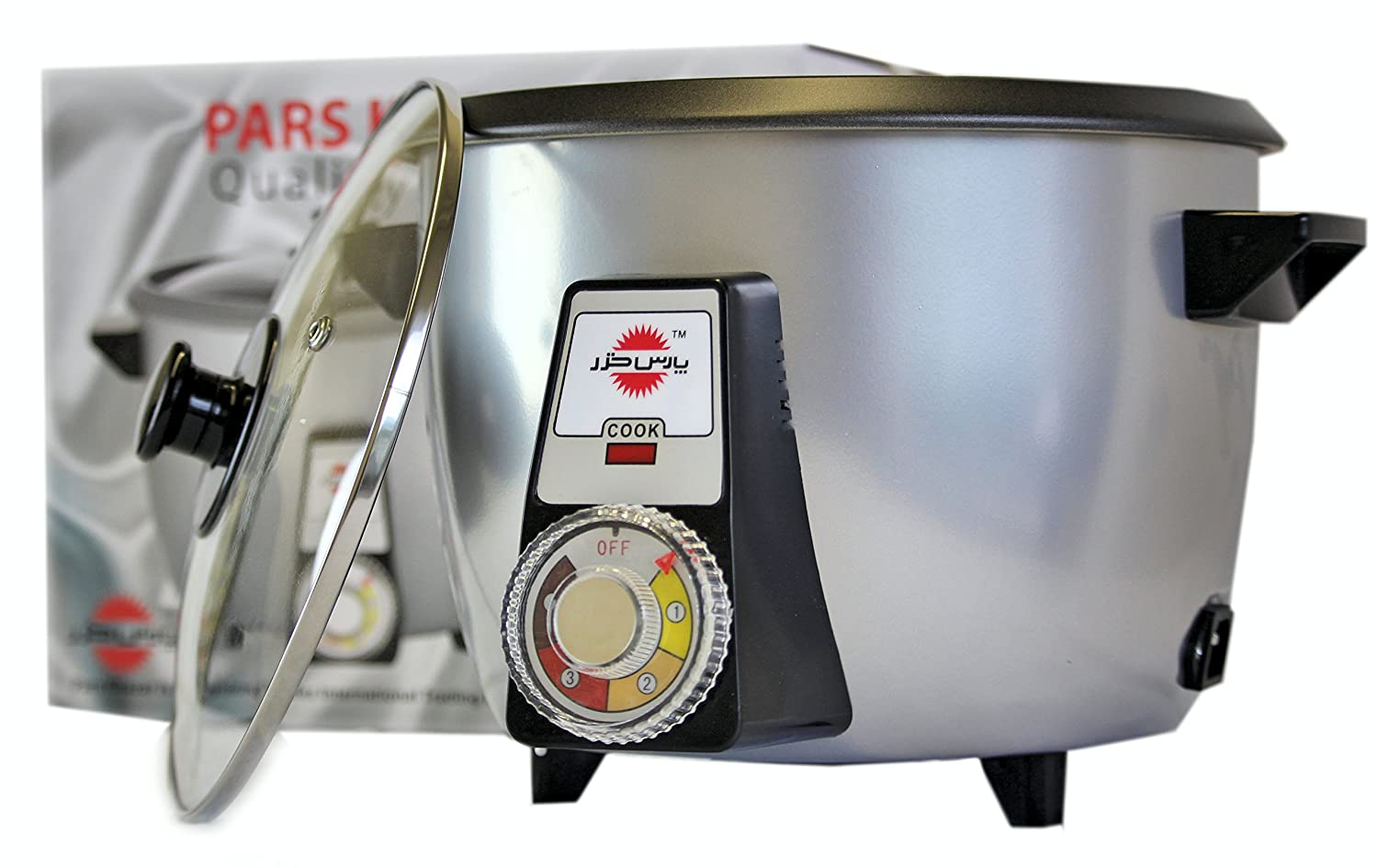 PARS KHAZAR Automatic Persian Rice Cooker 4 Cups