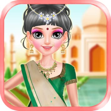 Amazon Com Indian Wedding Salon Indian Girl Makeover Indian