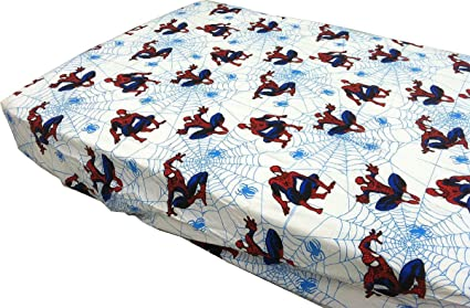 Marvel Spider-Man Webslinger Toddler Bedding Fitted Sheet