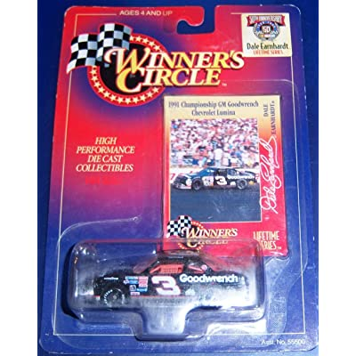 1991 Championship GM Goodwrench Chevrolet Lumina Dale Earnhardt 1/64 scale: Toys & Games