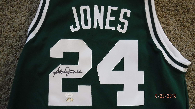 big sale 16113 c24a9 SAM JONES Signed Celtics Jersey JSA Authenticated #I15086 at ...