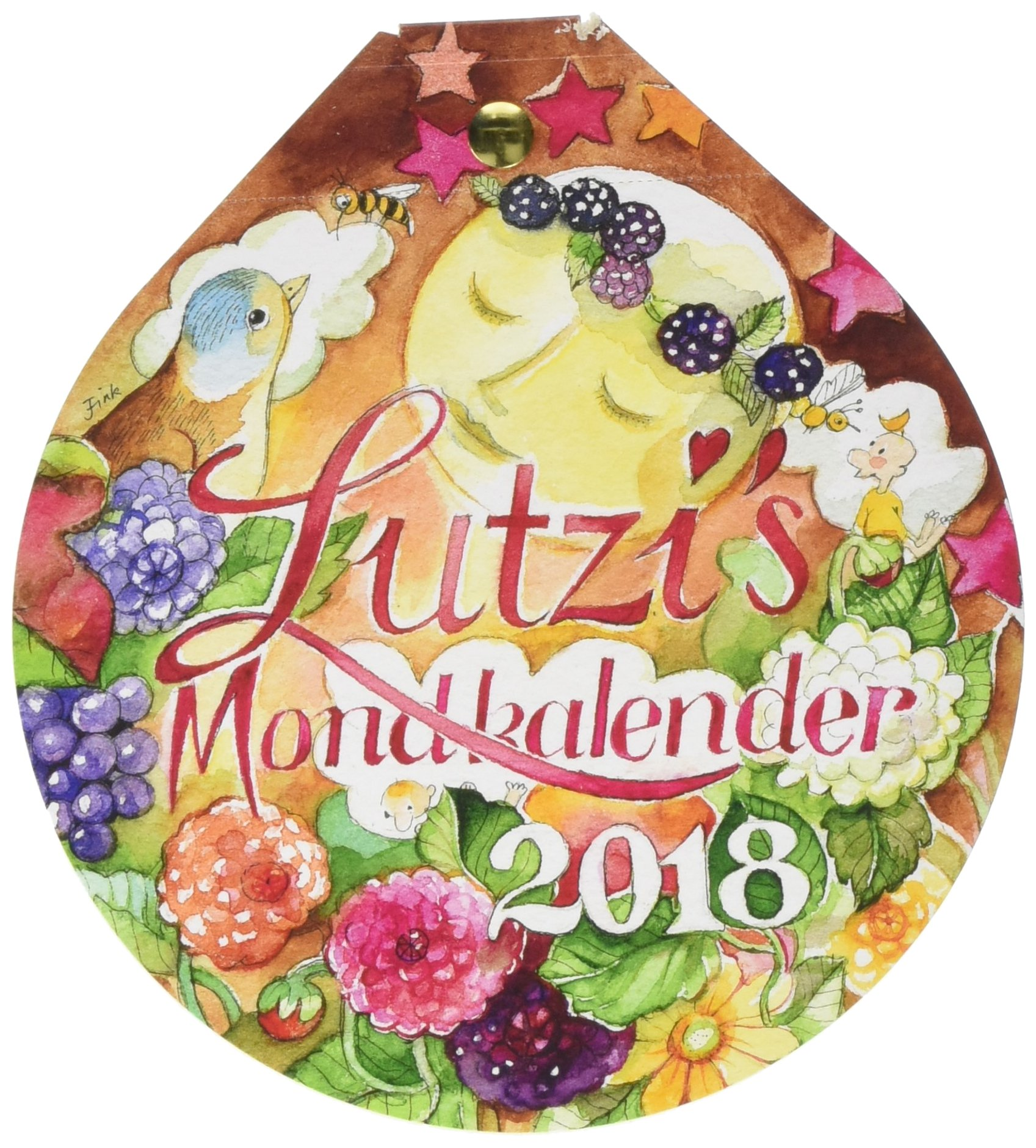 Lutzi's Mondkalender rund 2018