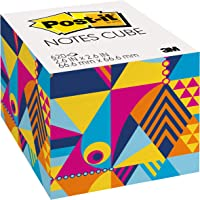 Post-it Notes Cube, 2.6 in x 2.6 in, Marble design, 620 Sheets/Cube