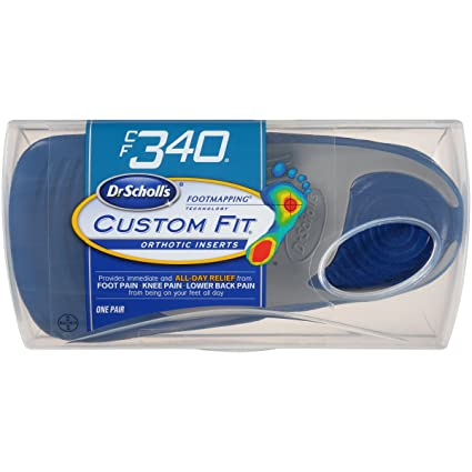 Dr. Scholl's Custom Fit Orthotic Inserts, CF 340: Amazon.ca: Tools on