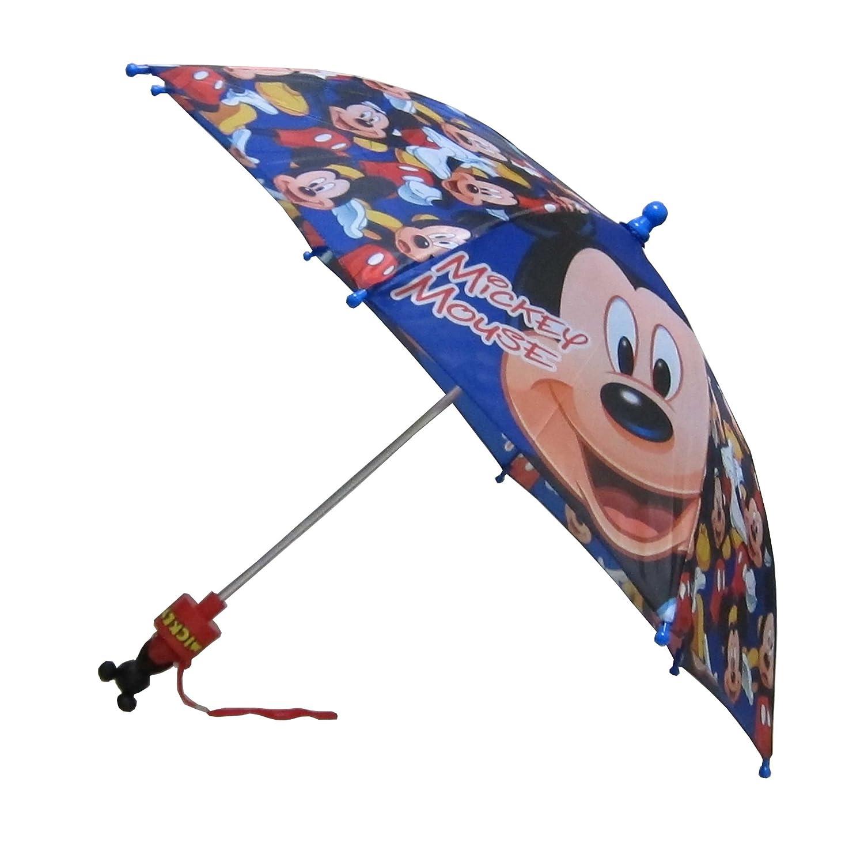 4260ddcbb6ee8 Disney Mickey Mouse Boy s Blue Umbrella  Amazon.ca  Luggage   Bags