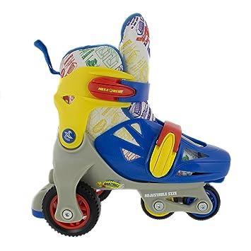 Patines para niños Regulables Patines en línea 4 ruedas NA 6147 NA Nils Extreme