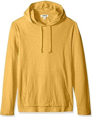 46be45155cfe Amazon Brand - Goodthreads Men's Lightweight Slub T-Shirt Hoodie
