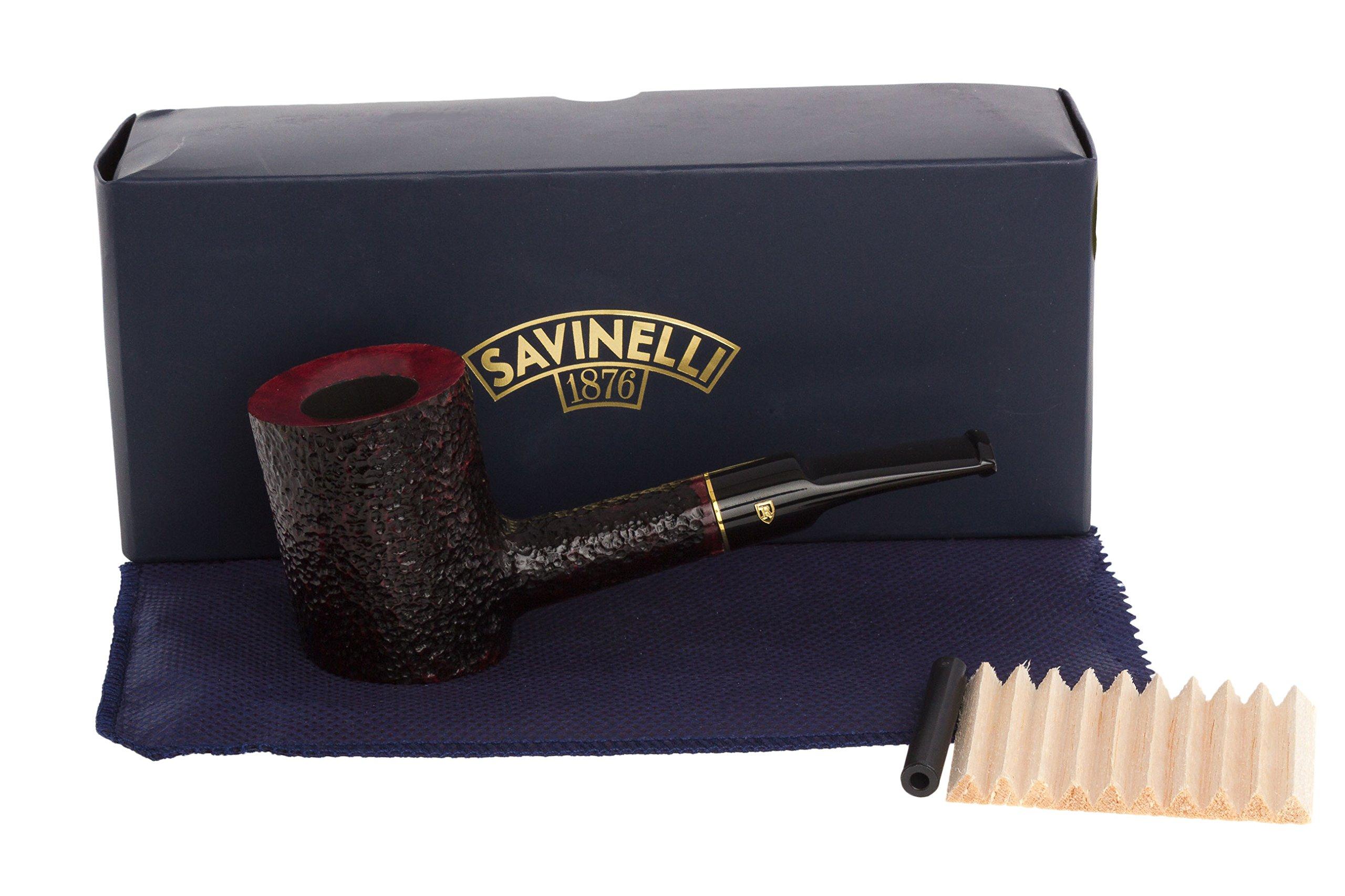 Savinelli Roma 311 KS Tobacco Pipe - Black Stem by Savinelli