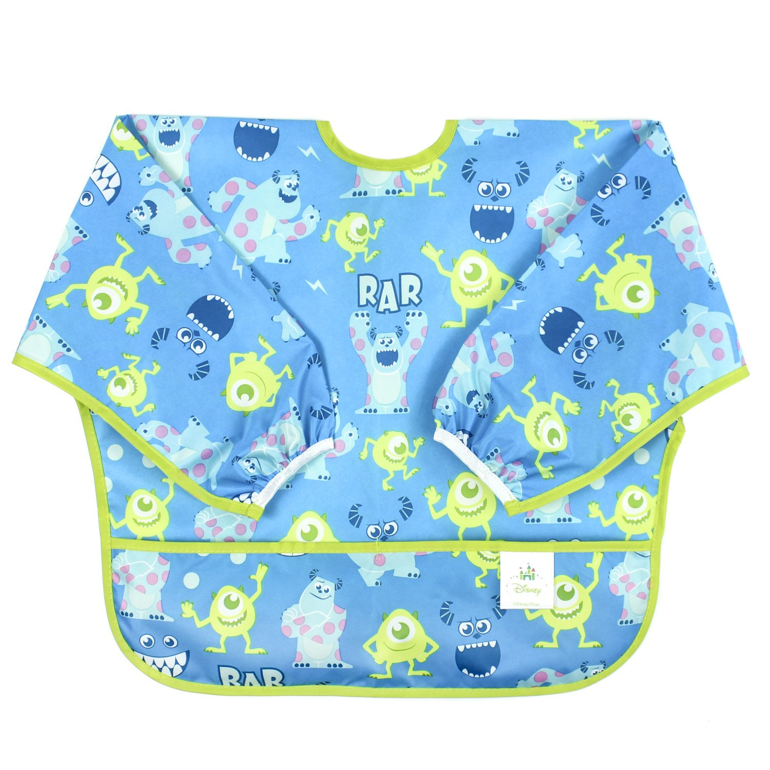 Bumkins Disney Baby Waterproof Sleeved Bib, Winnie The Pooh Balloon (6-24 Months) SU-DWP42