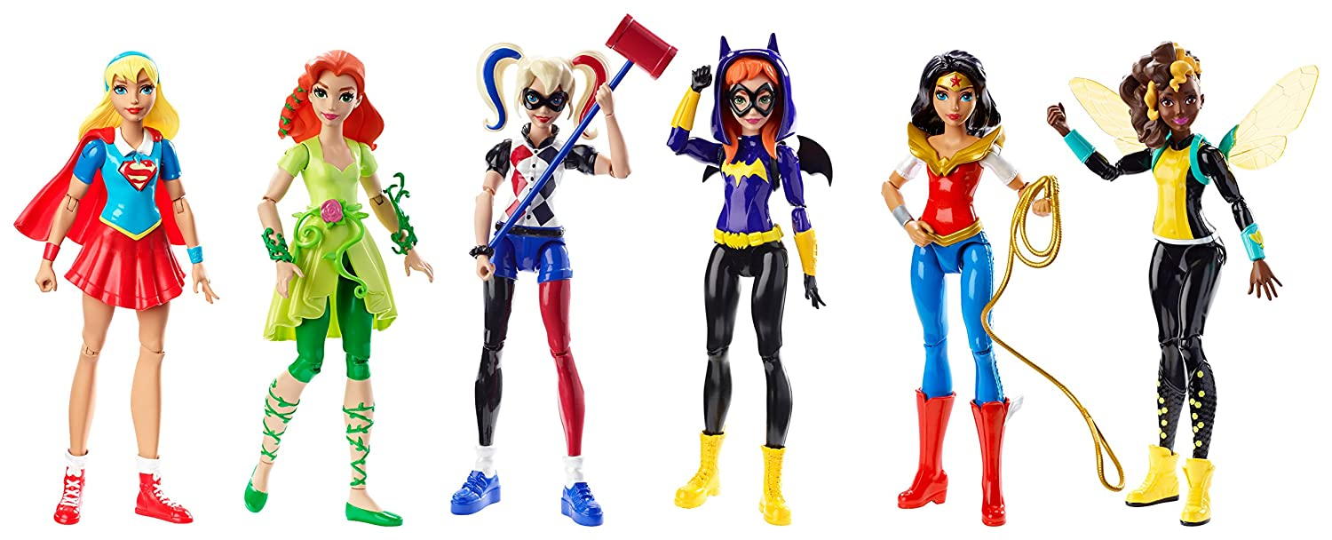 DC Comics DC Super Hero Girls Ultimate Collection 6 Action Figure 6 Pack