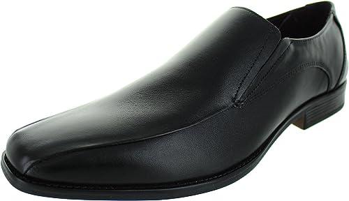 Mocasines De Cuero Negro De Lotus Los Hombres Stockton: Amazon.es: Zapatos y complementos
