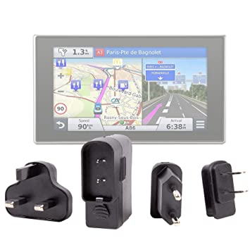 DURAGADGET Kit De Adaptadores con Cargador para Los GPS ...