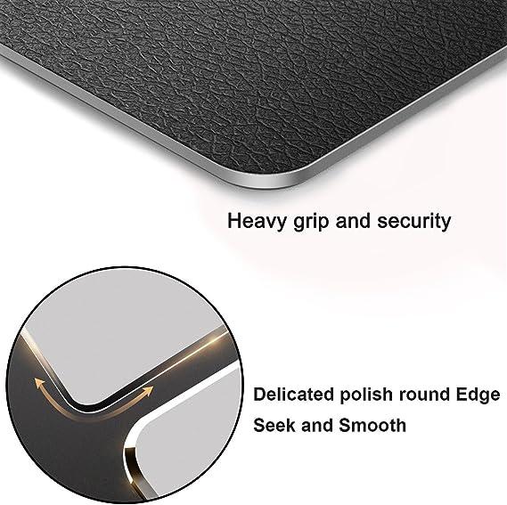 Amazon.com: Alfombrilla de ratón de aluminio de doble cara ...
