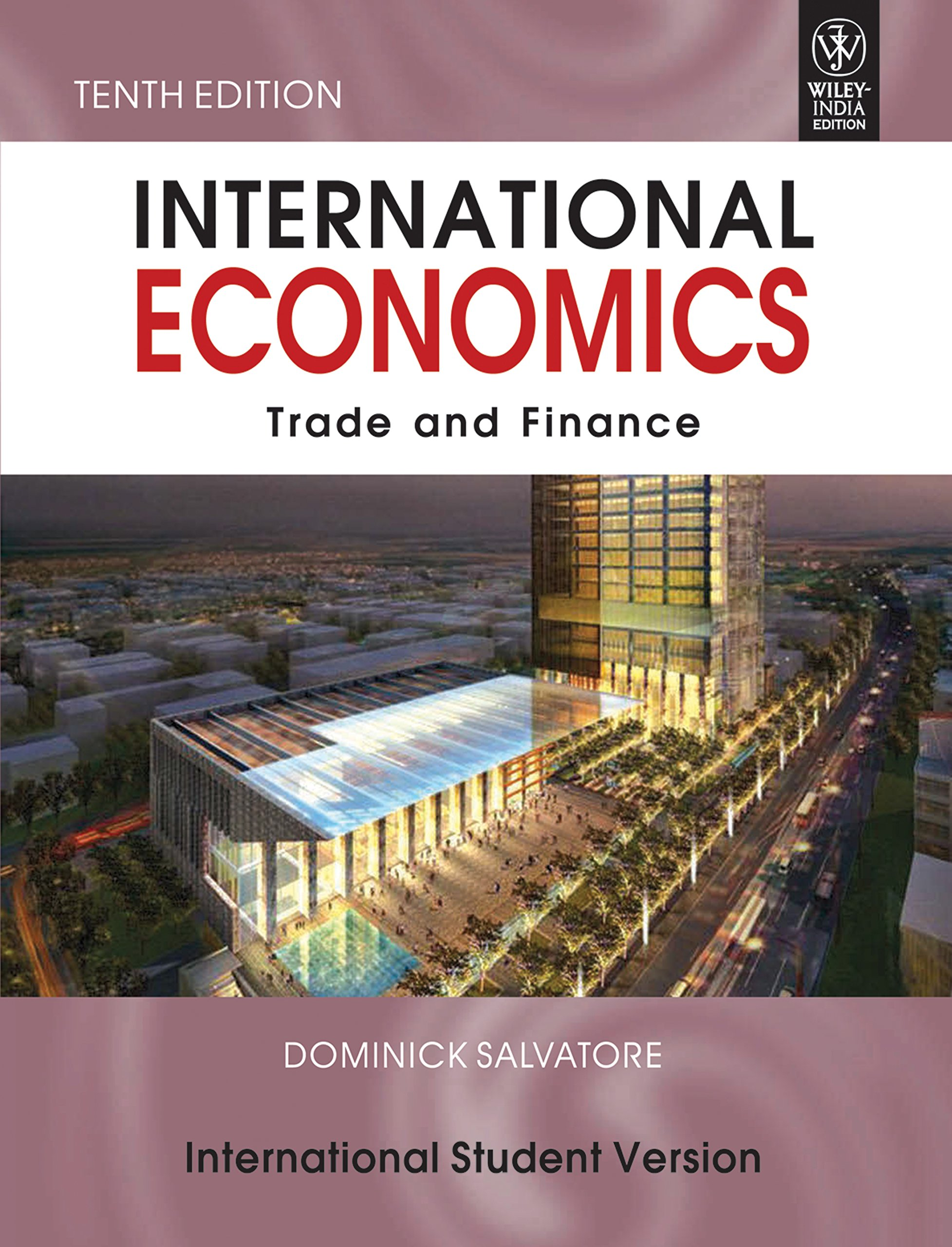 International Economics Trade And Finance Dominick Salvatore Pdf