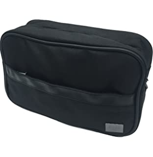 Hugo Boss Men s Grey Beauty Toiletry Bag Travel Overnight Wash Gym ... ad1346f24467c