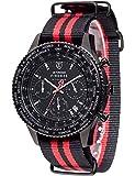 DETOMASO Herren-Armbanduhr Man Firenze Chronograph Quarz DT1070-C