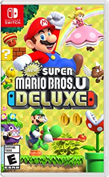 Amazon Com New Super Mario Bros U Deluxe Nintendo Switch