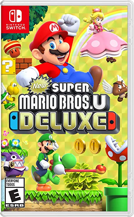 Amazon.com: New Super Mario Bros. U Deluxe - Nintendo Switch ...
