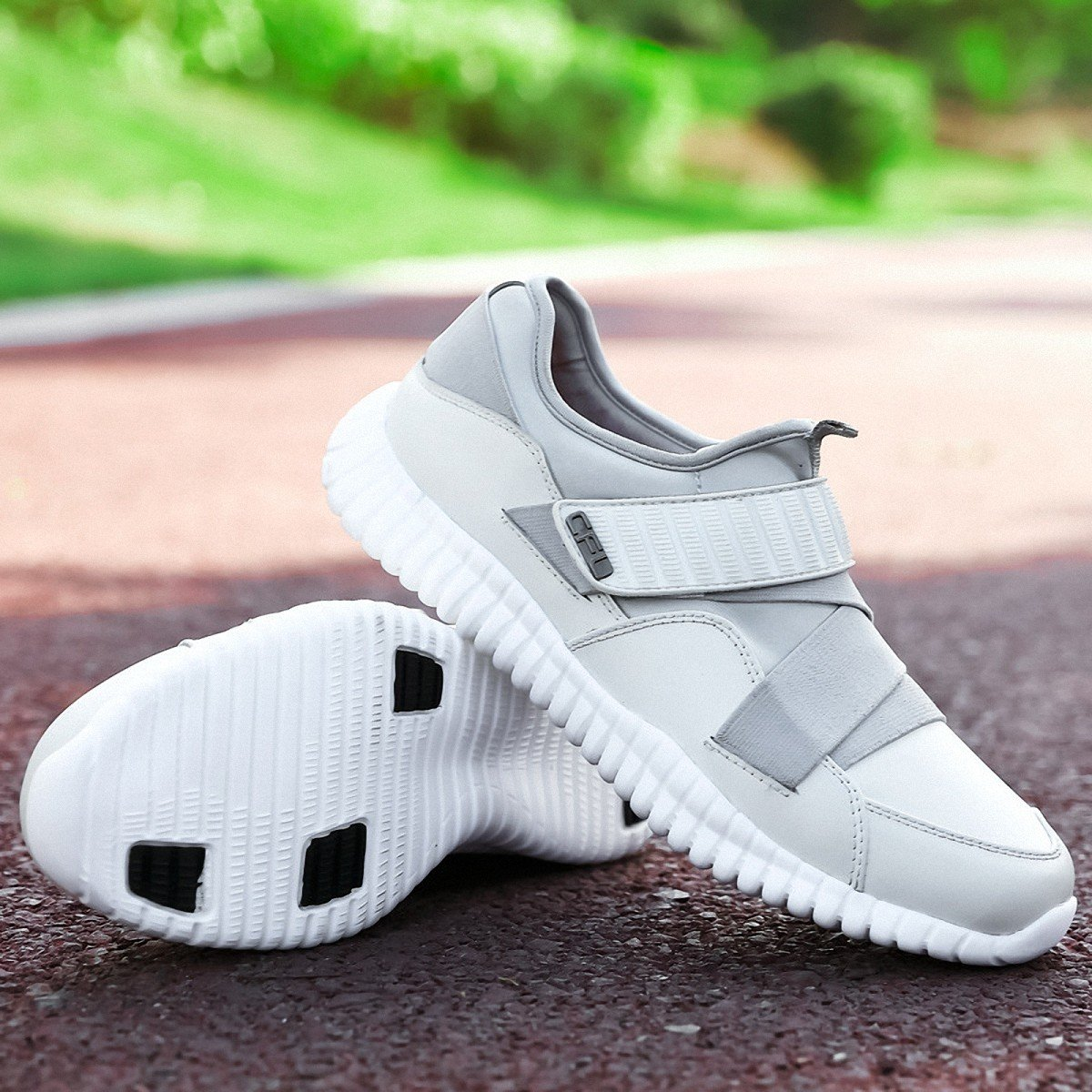 Lucdespo Sport Sport Sport Niedrige Herrenschuhe Halbschuhe Schuhe Atmungsaktiv und Magic Aufkleber. 38cbe2