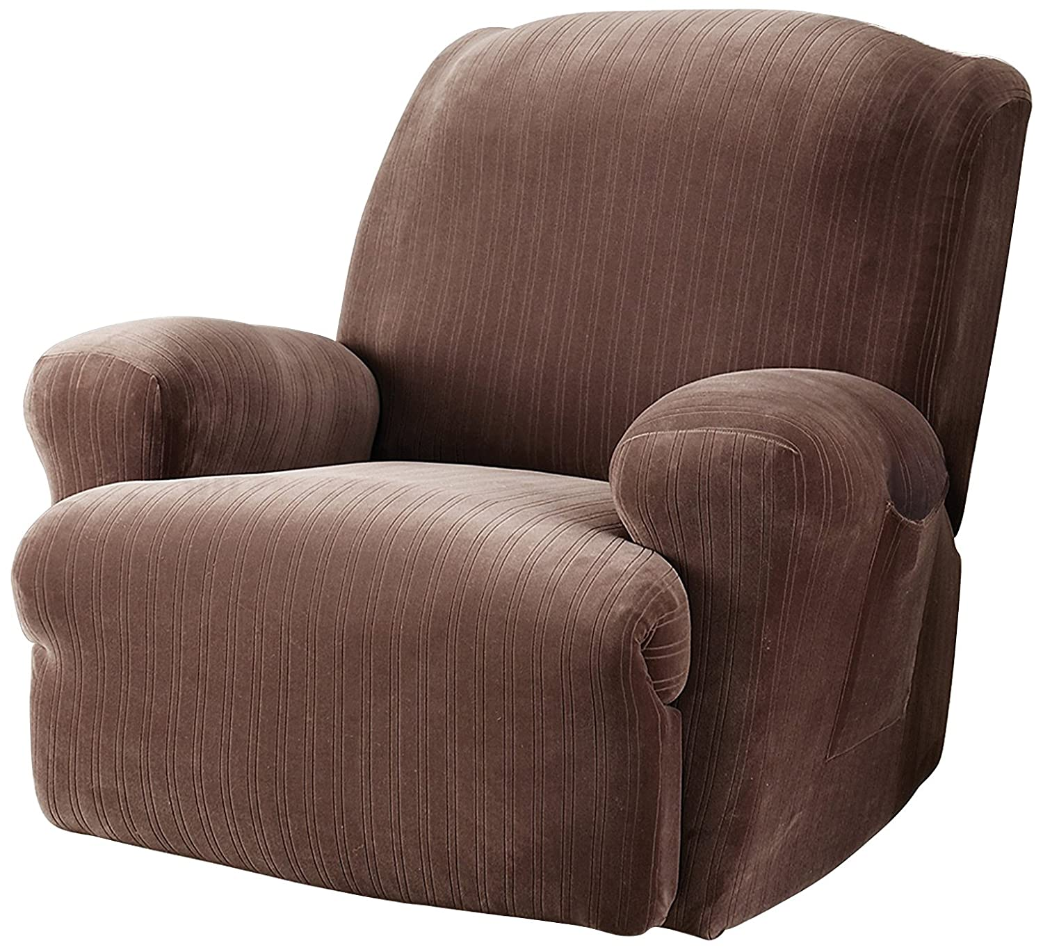 ip sure walmart recliner fit slipcovers stretch for recliners suede com slipcover