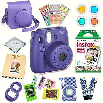 Fujifilm Instax Mini 8 Camera Accessory Kit For Includes Instant