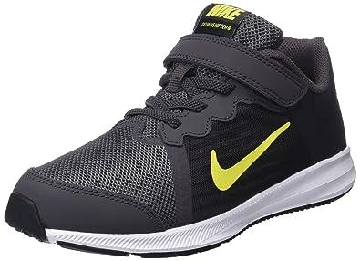online retailer eb005 4586a Nike Jungen Downshifter 8 (PSV) Laufschuhe Mehrfarbig (Thunder Dynamic  Yellow Oil Grey