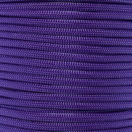 Camping Crafting Tie-Downs 100/% Nylon Core Utility Parachute Cord Survival PARACORD PLANET 550 Type III 7 Strand Paracord 550-Pound Tensile Strength
