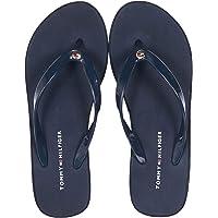 Tommy Hilfiger Kadın Hilfiger Wedge Beach Sandal Moda Ayakkabı
