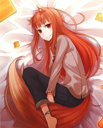 Anime Spice and Wolf HD Otaku Wall Scroll Poster Custom Gift Decor Home 60×90cm
