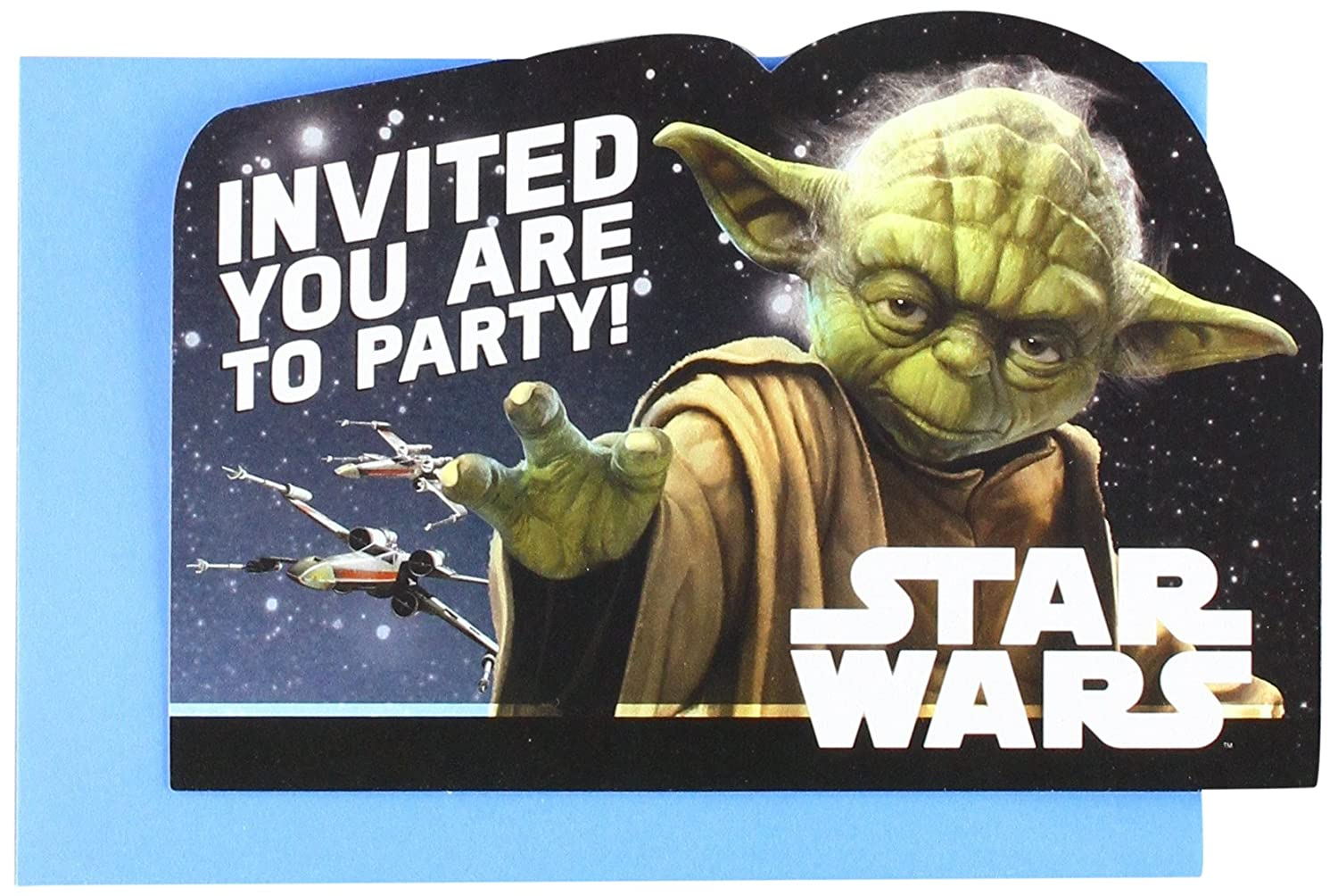 Party Favor AMNSX 5795232 Star Wars/™ Classic Postcard Invitations