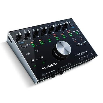 M-Audio M-Track 8X4M - Interfaz compacta USB de audio/MIDI,