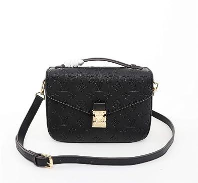 7663391dfcad Paper-LV Monogram Canvas Kimono PM Cherry Noir Taupe Glace Shoulder Handbag  for women (Cherry)  Handbags  Amazon.com