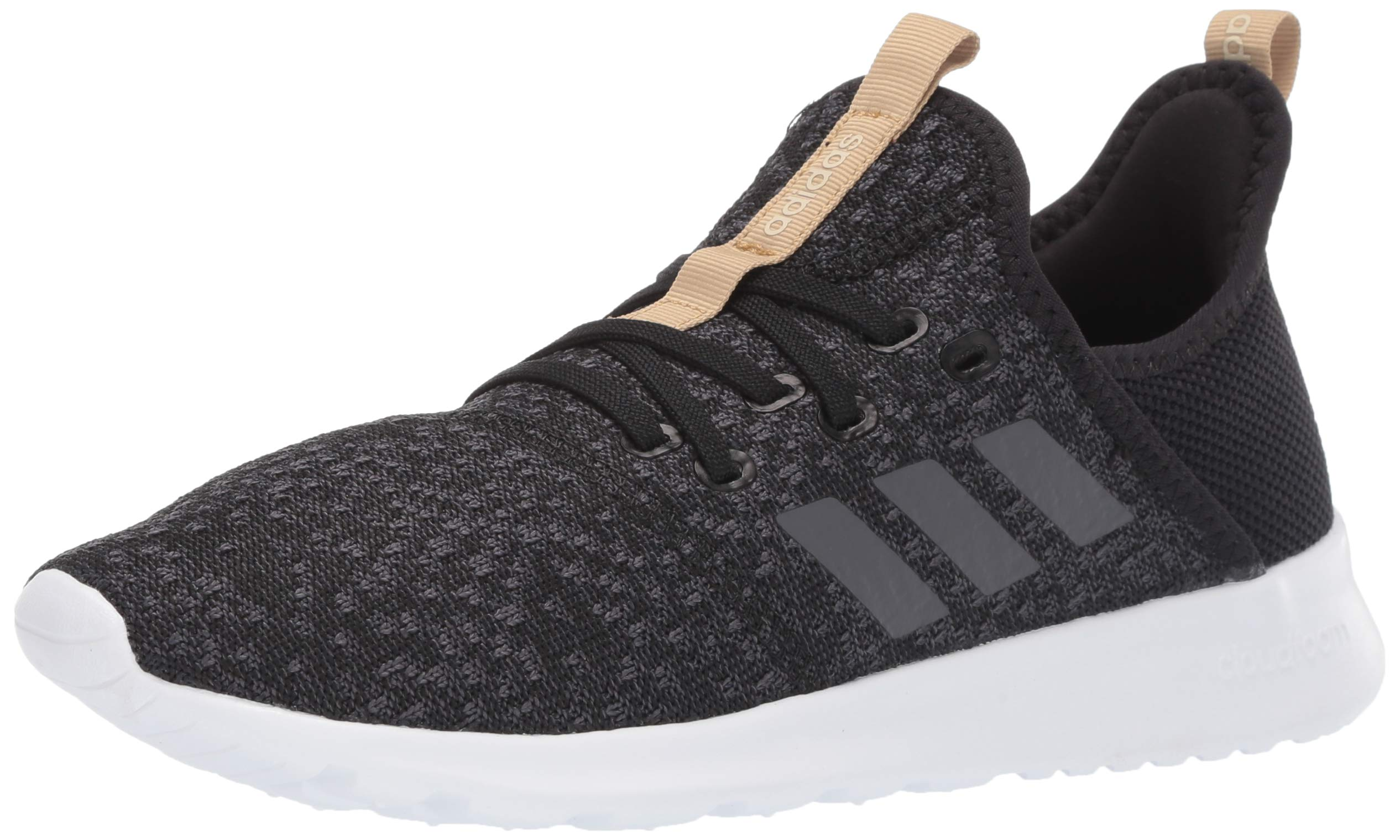 adidas Women's Cloudfoam Pure, Grey/Black, 5.5 M US by adidas (Image #1)