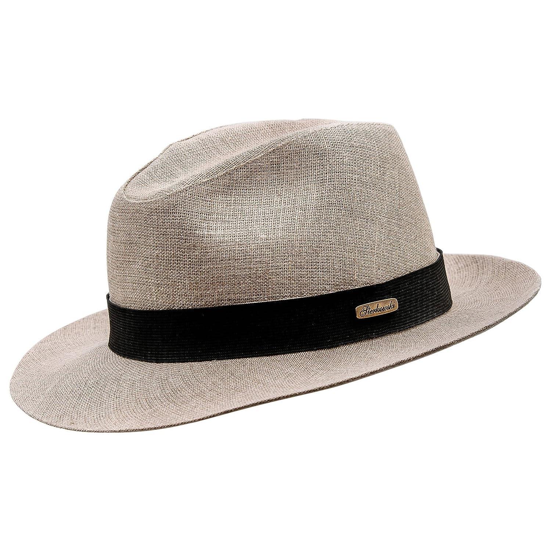 Sterkowski Fedora 'Corleone' Summer Linen Sewn Hat ZAB-COR-L95