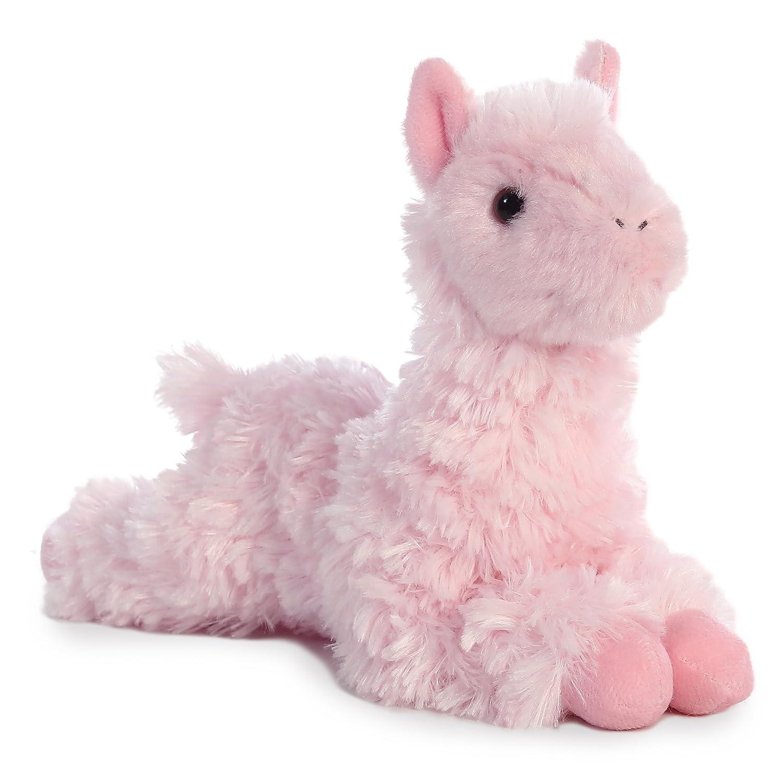 Aurora World 8 Mini Flopsie Plush Toy Teal Llama 31757