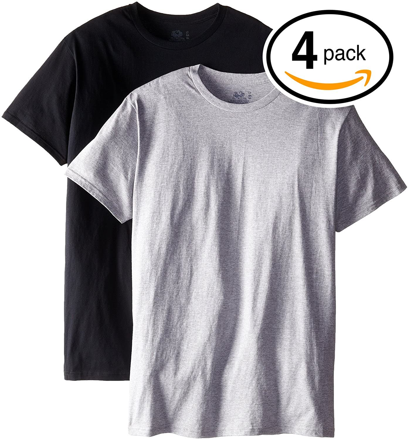 Fruit of the Loom Mens Tall Crew Neck T-Shirts Undershirts at Amazon Mens Clothing store: