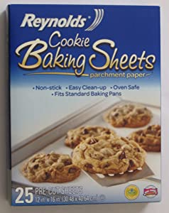 Reynolds Cookie Baking Sheets Non-stick Parchment Paper 2-pack (25 Count Each) (2)