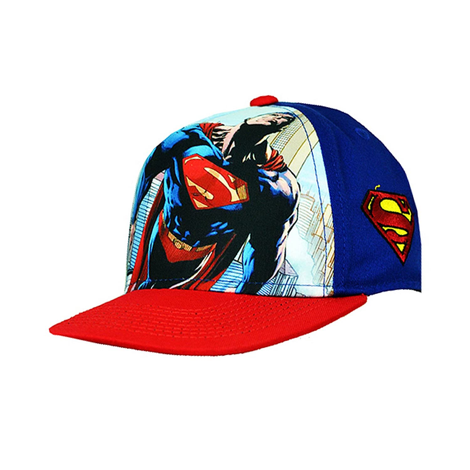 Superman Childrens/Kids Official Snapback Cap UTSG7368_1
