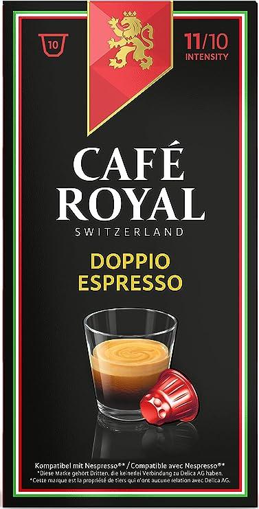 Café Royal Italian Edition Doppio Espresso100 cápsulas compatibles ...