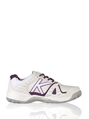 KELME Zapatillas Casual Amazon Padel Blanco/Morado 35: Amazon.es ...