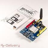 azdelivery SIM 900GPRS/GSM Shield per Arduino