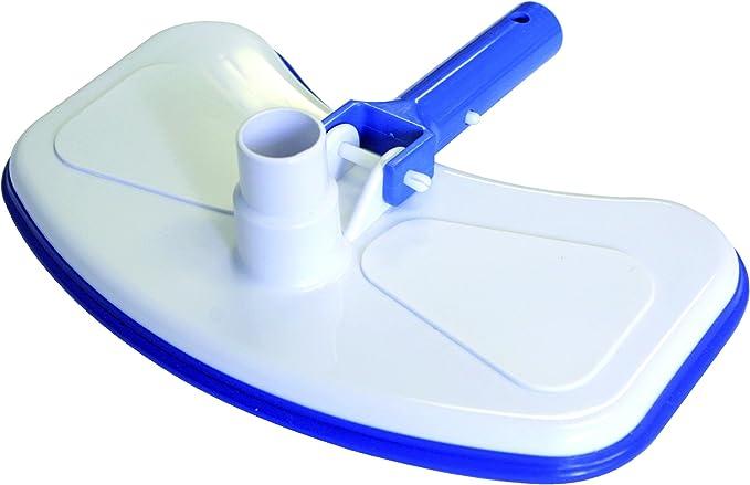 Steinbach Limpieza de piscinas estándar Abajo aspirador, conexión de manguera Ø 32/38 mm, para mástil telescópico, 300 x 180 mm, 061145