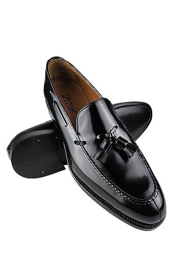 Zerimar Zapatos Castellanos Hombre | Mocasin Antifaz Hombre | Mocasin con Borlas para Hombre: Amazon.es: Zapatos y complementos