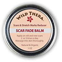 Wild Thera Scar Remover for Face, Stretch Marks, Acne Scars, Pregnancy Scars, Surgery...
