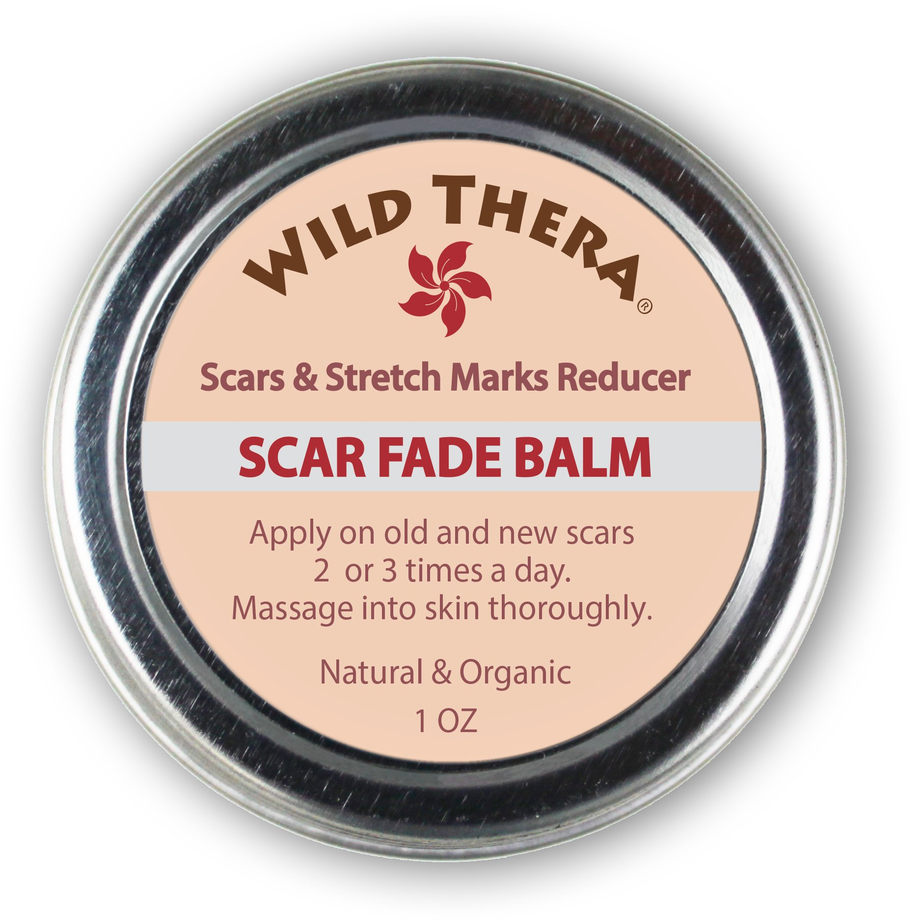 Concentrated Scar Remover for Stretch Marks, Acne Scar Removal, Pregnancy & Surgery Scars, Sun Spots & Pock Marks. Herbal Scar Cream with Coconut Oil, Shea, Cocoa Butter, Jojoba & Avocado Oil.