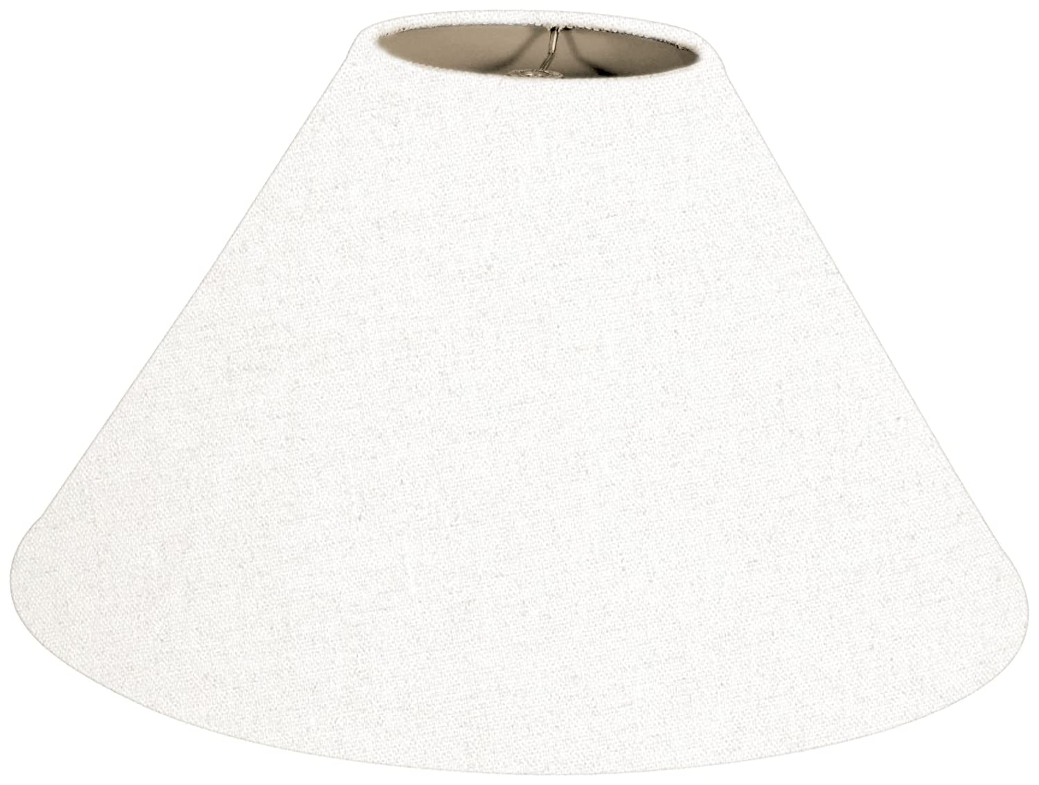 Amazon.com: Royal Designs Coolie Empire Hardback Lamp Shade, Linen White, 5  X 14 X 9.5 (HB 607 14LNWH): Home Improvement