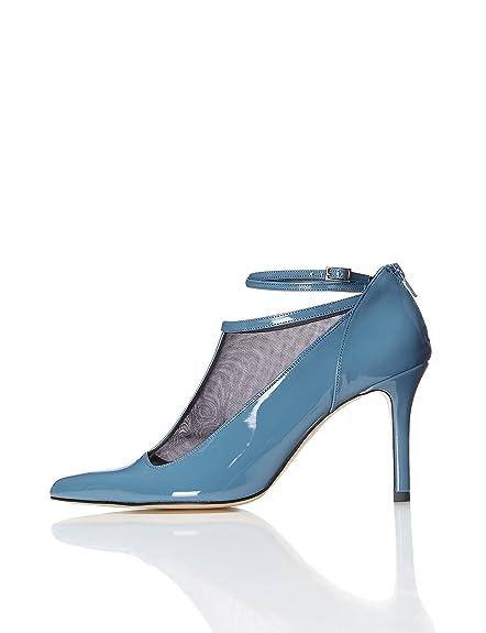 FIND Zapatos Estilo Mary Jane de Charol para Mujer: Amazon.es: Zapatos y complementos