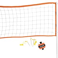 Triumph Advanced Volleyball Set Includes Official Size Volleyball, Carry Bag, and Inflating Pump and Needle