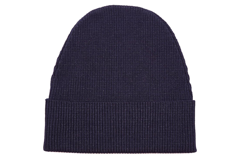 4ce6c94ac1 Prada cuffia berretto uomo in lana originale blu: Amazon.it: Scarpe e borse