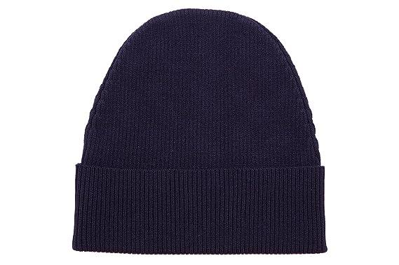 Prada men s wool beanie hat blu UK size UNI SMB323 507 F0008  Amazon ... 5cced0e3618